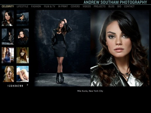 Andrew Southam celebrity gallery