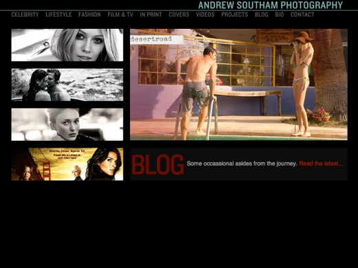 Andrew Southam home page