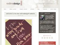 redlinedesign website
