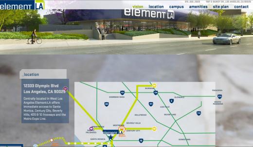 Element:LA Map Building On